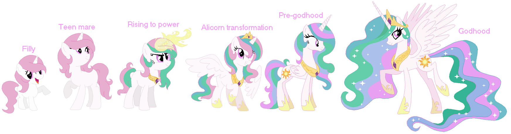Celestia Ages- ~DOWNLOAD FOR FULL SIZE~ by Cookie-Dolls