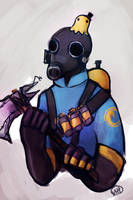 sluggy pyro by monkette