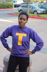 Token Black Girly Posing by QueenAnime99