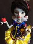 Snow white ooak doll by lantis-kelly