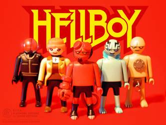 Hellboy Playmobil - Goodguys by JakobWestman