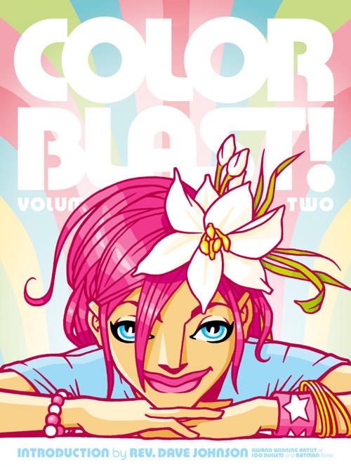 Cover to Color Blast vol 2