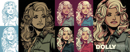 Dolly in '77, step-by-step by JakobWestman