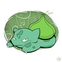 001 - Bulbasaur by steven-andrew