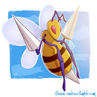 015 Beedrill by steven-andrew