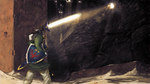 Link and the Desert Cave