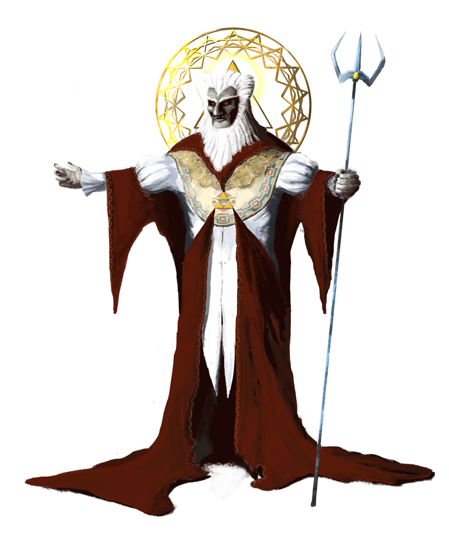 Grand Emperor Ganon by Spire-III