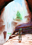 Link and the Crystal Chasm