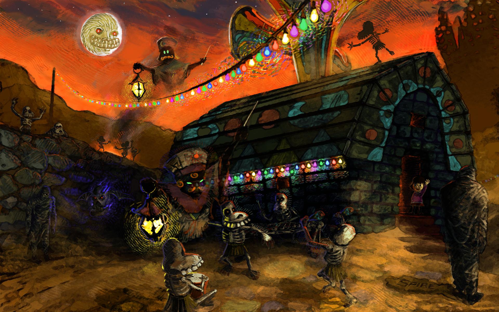 Ikana Festival of the Dead by Spire-III