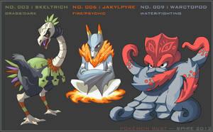 Pokemon Rust: Starter Final Evolutions