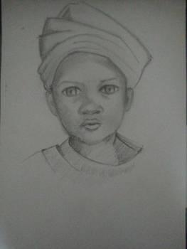 a child portrait attempt