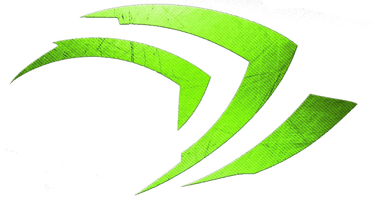 nvidia logo by emizel599 on deviantart