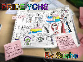 HUGE PRIDE YCH BATCH! OPEN 40/42 (points or paypal