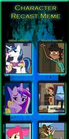 My little pony recast (Total Drama) Pt3