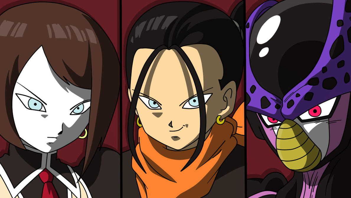 Androids Dragon ball heroes by fer-gon