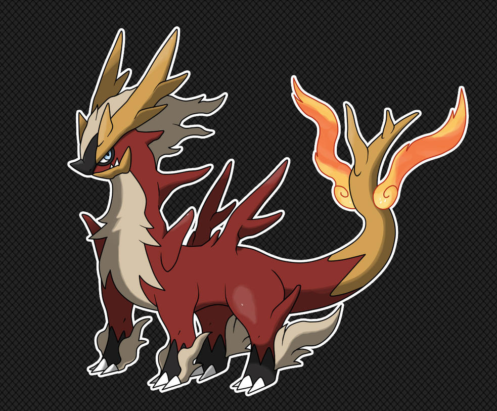 COMMISSION FAKEMON REDESIGN by fer-gon