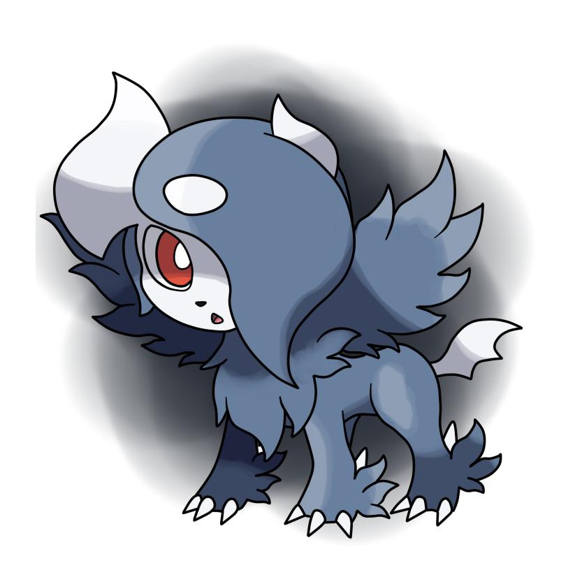 Black mega absol by fer gon on deviantart - Pokemon mega absol ...
