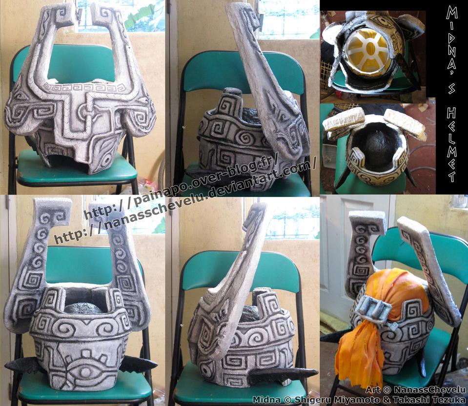 Commission - Midna's Helmet V2 by Nanasschevelu