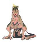 T-Rex Queen by Nanasschevelu