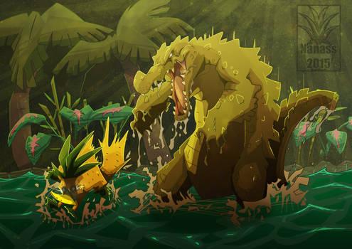 Platypus vs Wild - Croco Attack