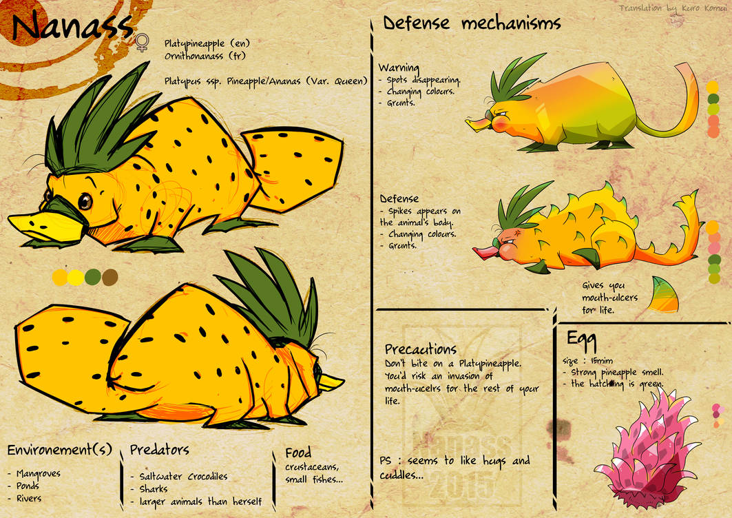 Nanass's Reference - Platypineapple (eng)