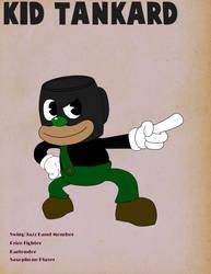 Cuphead OC: Kid Tankard by Basher-the-Basilisk