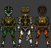 MMPR - Extra Rangers by theherocreator