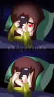 Chara Dreemurr- Cellphone by xXAyaYuiXx