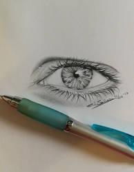 Mechanical eye by Devions
