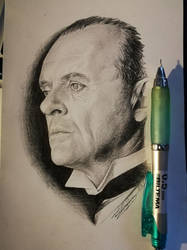 Anthony Hopkins by Devions