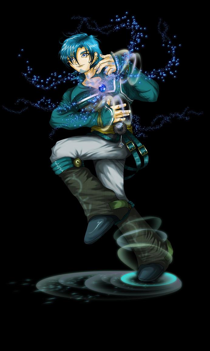 Sailor Boy Mercury by bongku