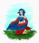 [Terraria] eh harpy