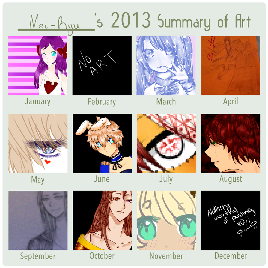 2013 Summary of Art by Ashpyr