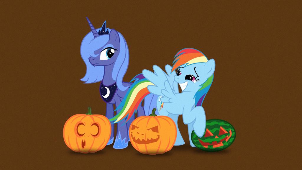 Happy Halloween / Nightmare Night by FoxTail8000