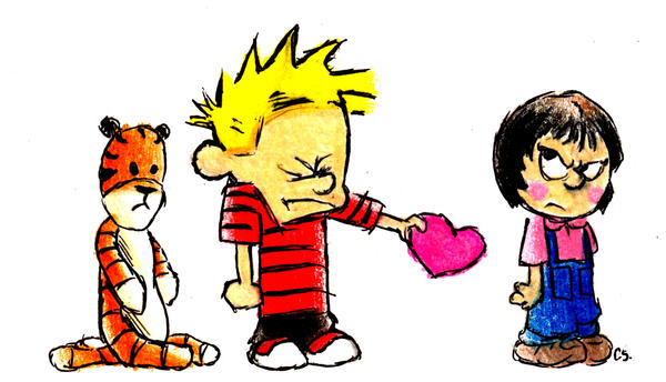 Calvin and susie as adults