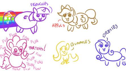Halloween Ponies feat. Bernd01 4 by wedraw4boops-admin