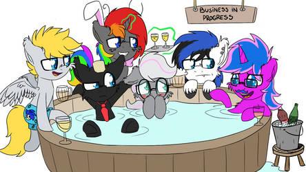 Halloween Ponies feat. Bernd01 6 by wedraw4boops-admin