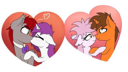 Valentine's feat. RainbowPlasma 1 by wedraw4boops-admin