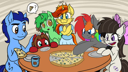 Pizza with OtakuAP and LateCustomer 3 by wedraw4boops-admin