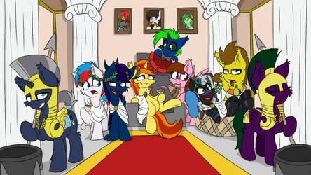 Roman Greek Ponies feat. RainbowPlasma 9 by wedraw4boops-admin