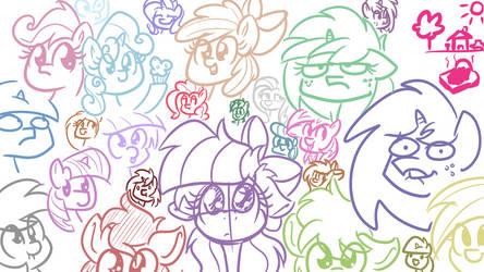 Roman Greek Ponies feat. RainbowPlasma 4 by wedraw4boops-admin