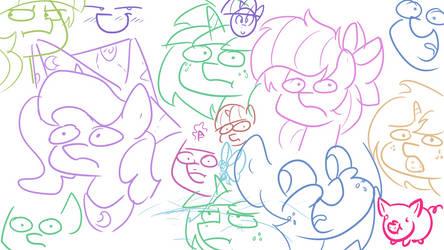 Roman Greek Ponies feat. RainbowPlasma 2 by wedraw4boops-admin