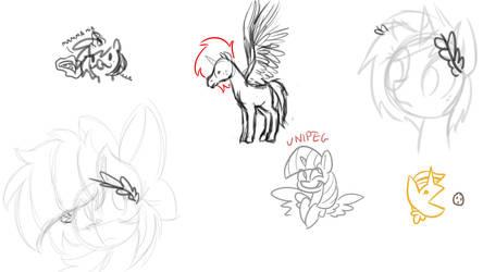 Roman Greek Ponies feat. RainbowPlasma 7 by wedraw4boops-admin