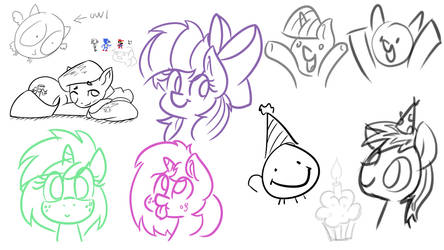 Warm up sketches by wedraw4boops-admin