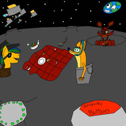 Picnic on the moon By DaClassicDude by wedraw4boops-admin
