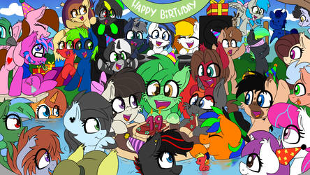 Pool birthday party by wedraw4boops-admin