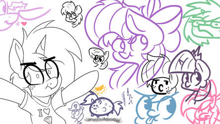 Pre Stream Sketches by wedraw4boops-admin