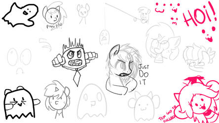 Stream sketches 1 by wedraw4boops-admin