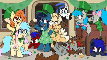 St Patrick's day by wedraw4boops-admin
