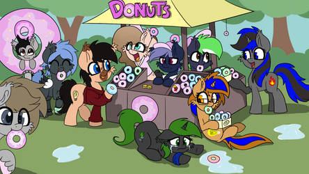 Donuts by wedraw4boops-admin